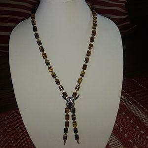 Handmade Jewelry - Tiger Eye Necklace